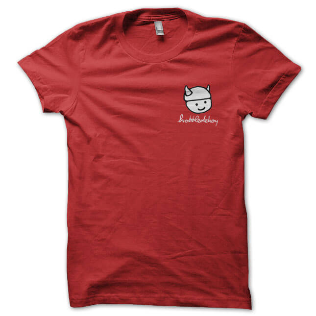 hobble_logo_tee_red