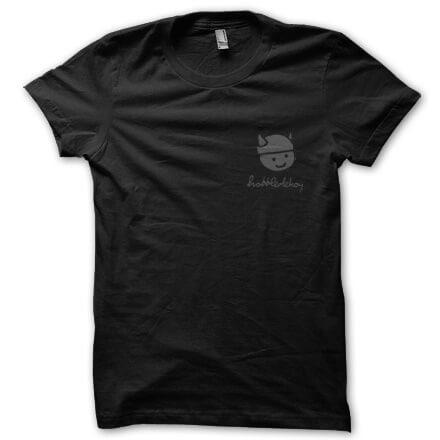 Hobbledehoy - Small Logo T-Shirt (Black)