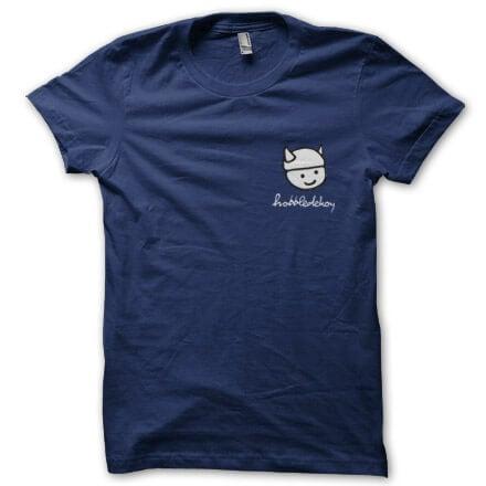 Hobbledehoy - Small Logo T-Shirt (Navy)