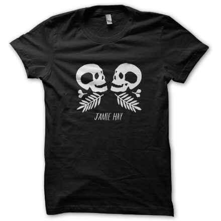 Jamie Hay - Skulls - T-Shirt